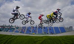 The BMX quarter-finals