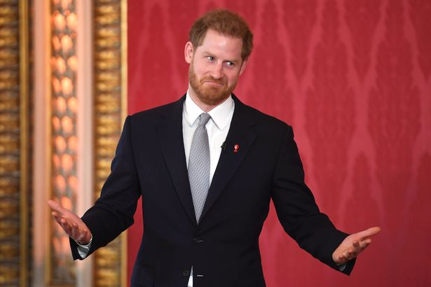 Prince Harry in January 2020