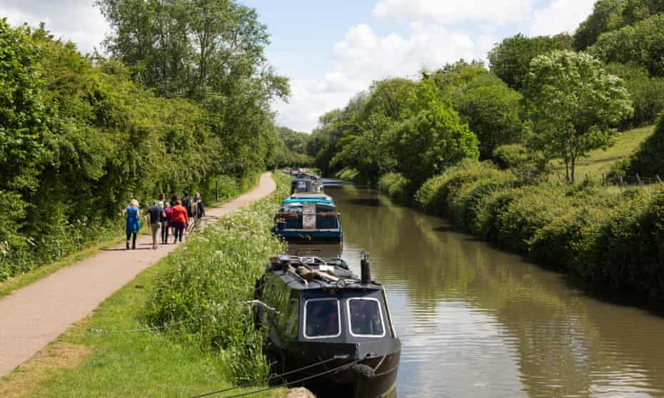 The Kennet & Avon canal near Bradford on Avon.