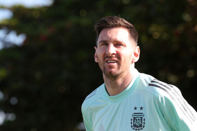 Lionel Messi is technically a free agent with his Barcelona contract having expired