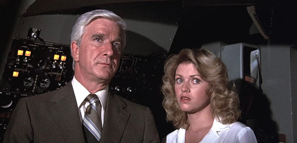 Leslie Nielsen in Airplane! (Paramount Pictures)