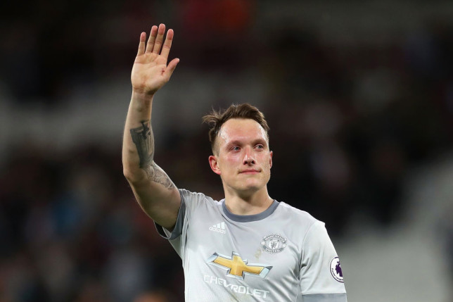 Phil Jones could leave Manchester United on a free transfer this summer