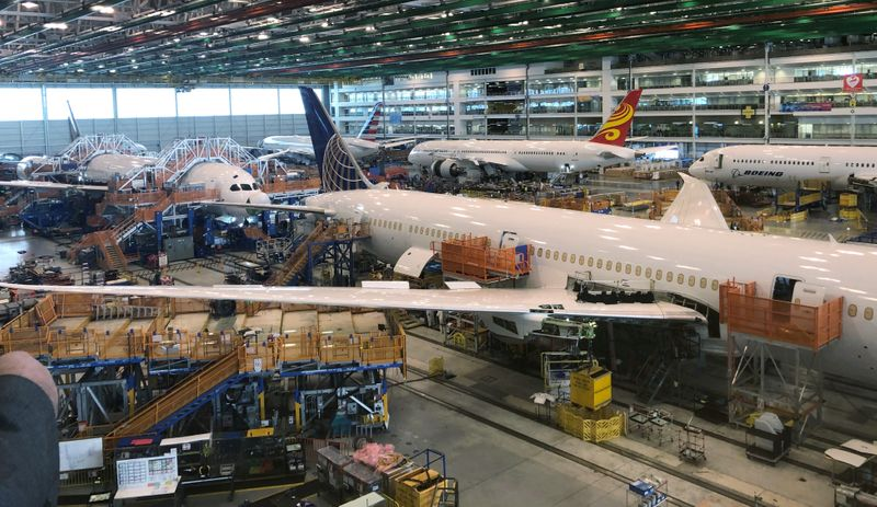 Exclusive-FAA says new Boeing production problem found in undelivered 787 Dreamliners