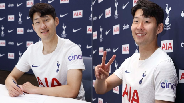 Heung-Min Son explains 'easy' decision to sign new four-year Tottenham contract