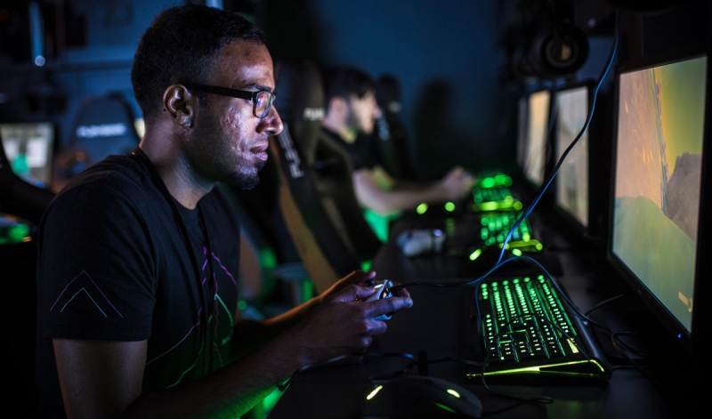 Esports fans and pros can mix at Belong Gaming Arenas.