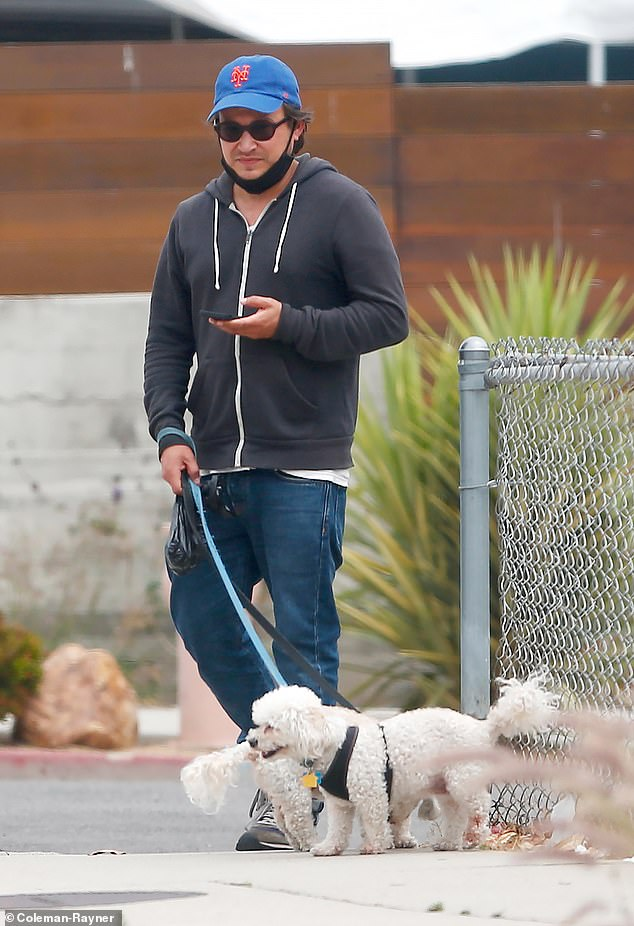 Stepping out:Jonathan Taylor Thomas was seen for the first time in almost eight years after stepping away from the spotlight despite a very successful career as a child actor