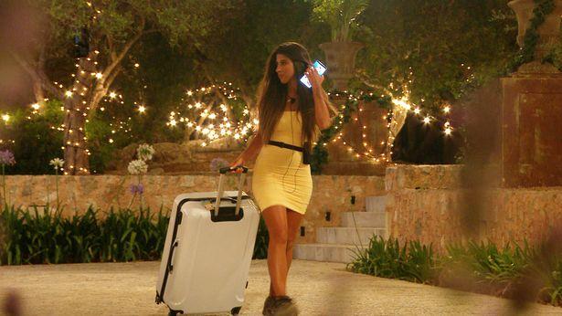 Shannon has now left the villa