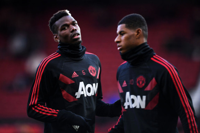 Manchester United's Paul Pogba sends message to England trio Rashford, Sancho and Saka after racist abuse