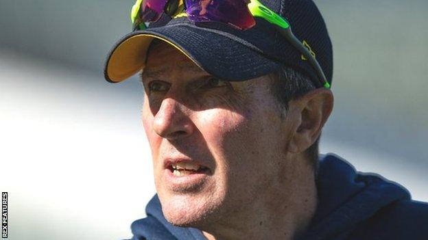 Mark Robinson is in his first season in charge as Warwickshire first team coach