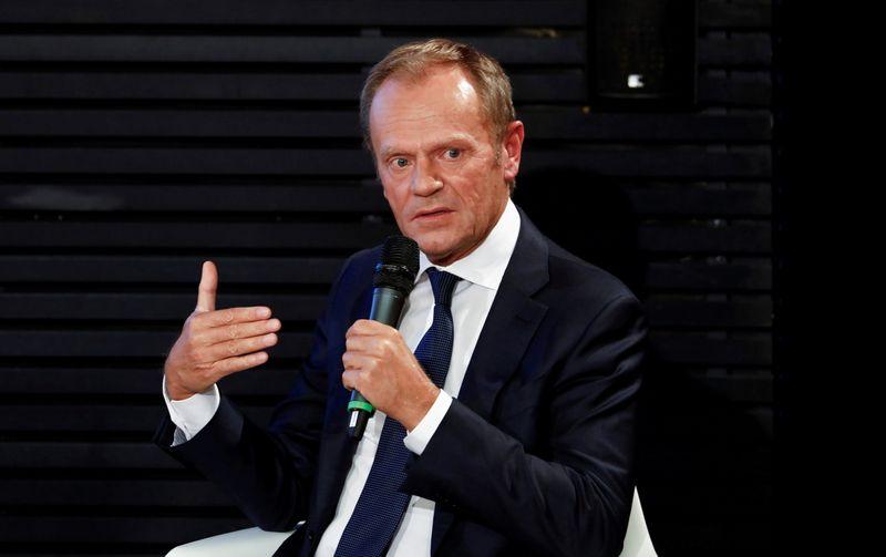 Poland's Tusk returns to frontline to face old foe Kaczynski
