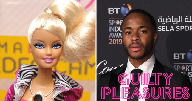 Guilty Pleasures: Raheem Sterling's guilty pleasures song is Barbie girl
