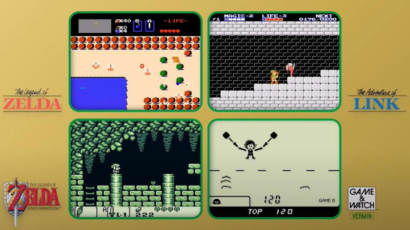 Game and Watch the Legend of Zelda