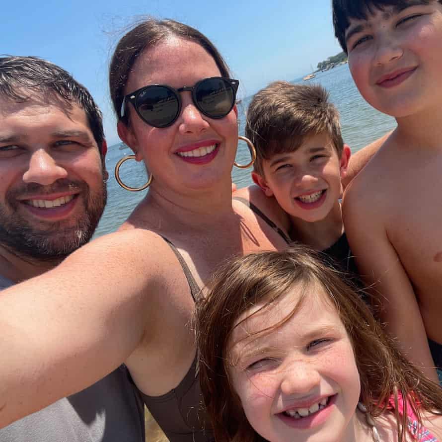 Clinical psychologist Bobbi Wegner and family.