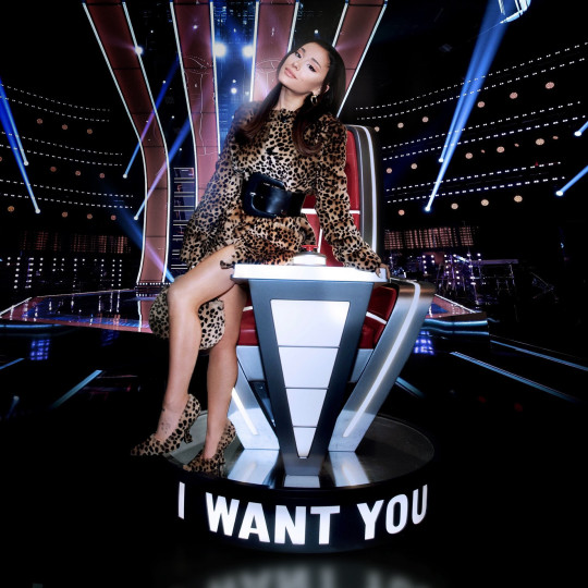 Ariana Grande for The Voice