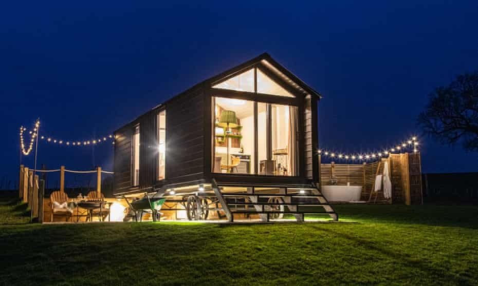 'Rethink the shepherd's hut': Aller, Dorset.