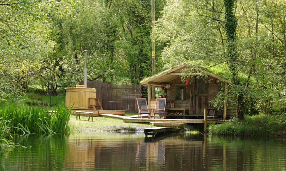 'A true sense of escape': The Cabin on the Lake, Powys.