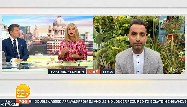 Devastating: And Dr Amir Khan confirmed: 'It is very real. It's estimated two million people across the UK are suffering from Long Covid'