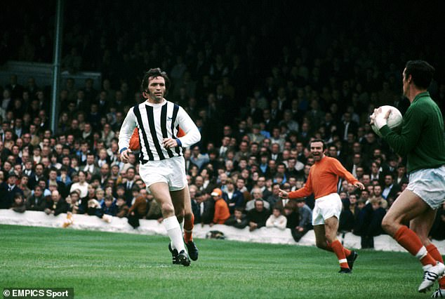 The long-awaited study began in January 2018 after claims that former West Brom striker Jeff Astle (pictured above) died because of repeated head trauma