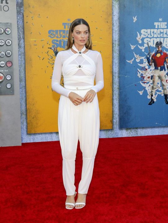 Los Angeles premiere of 'The Suicide Squad' held at the Regency Village Theatre in Westwood, USA on August 2, 2021. Pictured: Margot Robbie Ref: SPL5243041 020821 NON-EXCLUSIVE Picture by: Lumeimages / SplashNews.com Splash News and Pictures USA: +1 310-525-5808 London: +44 (0)20 8126 1009 Berlin: +49 175 3764 166 photodesk@splashnews.com World Rights,