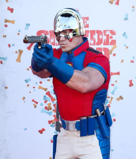 Mandatory Credit: Photo by Matt Baron/REX (12244118bp) John Cena 'The Suicide Squad' film premiere, Arrivals, Los Angeles, California, USA - 2 Aug 2021