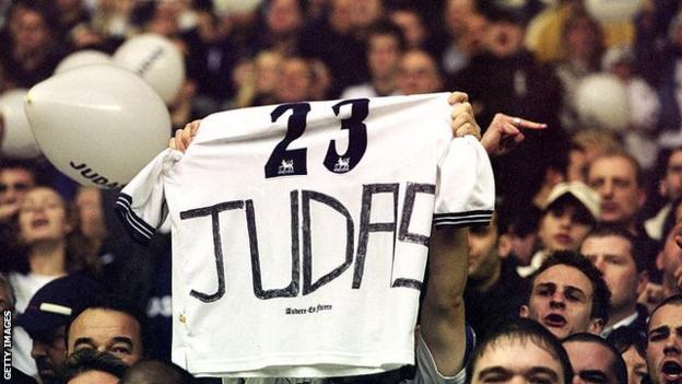 Campbell Spurs fan reaction