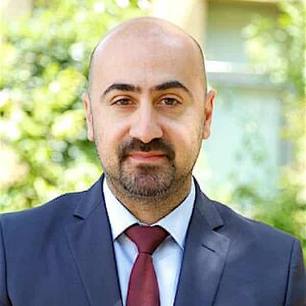 Dr Joseph el-Khoury, the incoming president of the Lebanese Psychiatric Society
