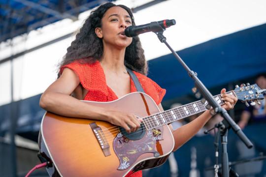 Corrine Bailey Rae performs at 2019 Newport Jazz Festival