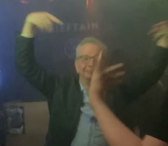 Michael Gove MP spotted dancing in O'Neill's Bohemia nightclub in Aberdeen. The recently single MP is thought to have arrived at the nightclub alone before taking to the dancefloor and partying with bemused punters.