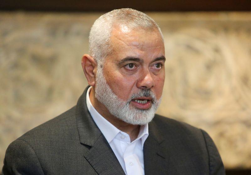Haniyeh re-elected as chief of Palestinian Islamist group Hamas