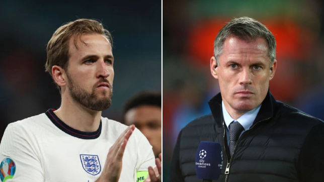 Jamie Carragher sent advice to Harry Kane amid his Tottenham Hotspur stand-off as he looks to force a move to Manchester City.