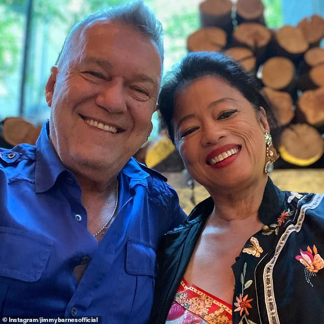 On the market! Jimmy and Janes Barnes are hoping to pocket $4million after listing their Botany warehouse residence for sale. Pictured together