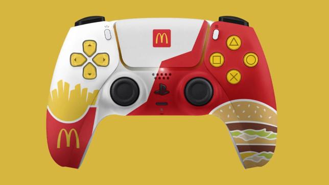 McDonalds PS5 DualSense controller