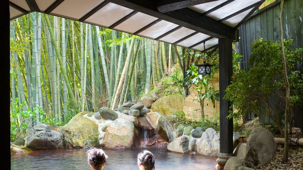 Onsen is a wellness practice in Japan