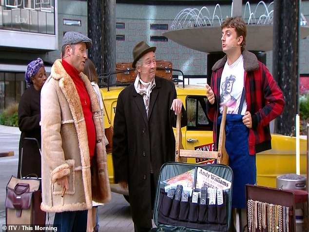 Chateauneuf du Pape: Viewers were left horrified by a performance from the cast of Only Fools and Horses The Musical on Friday's episode of This Morning
