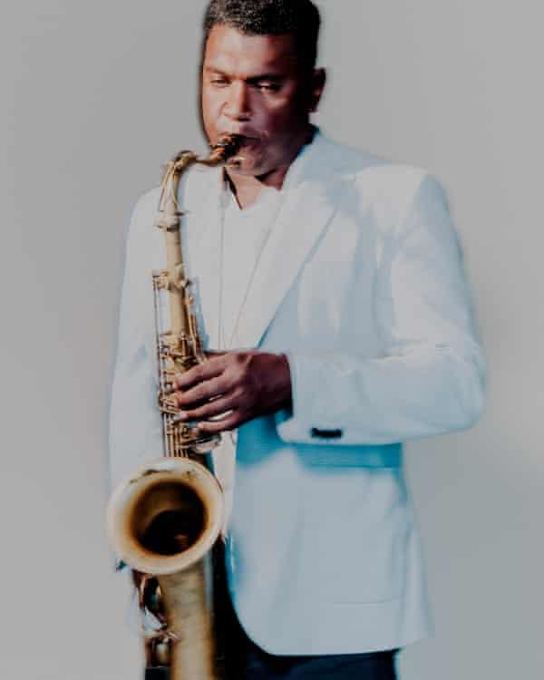 alexander playing saxophone