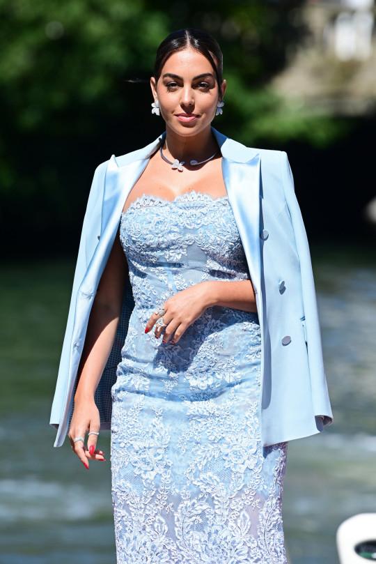 Georgina Rodriguez in Venice
