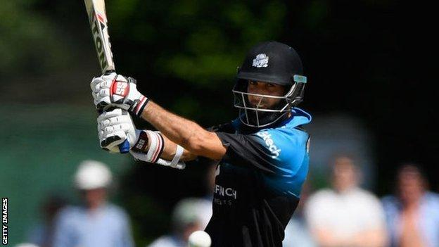 Ross Whiteley was part of Worcestershire's T20 Blast winning team in 2018