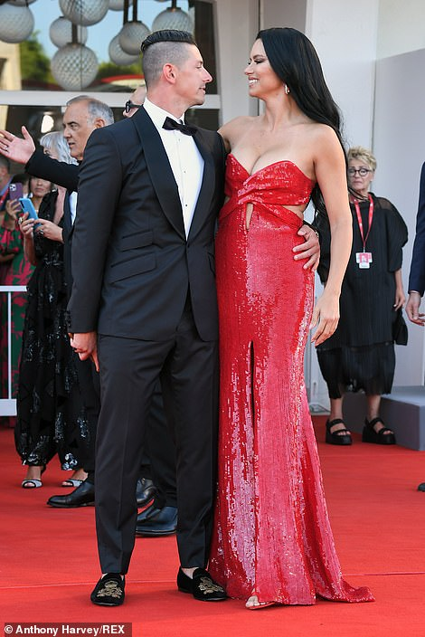 Loved-up! Adriana recently confirmed her new relationship status on Instagram - but is yet to reveal his name