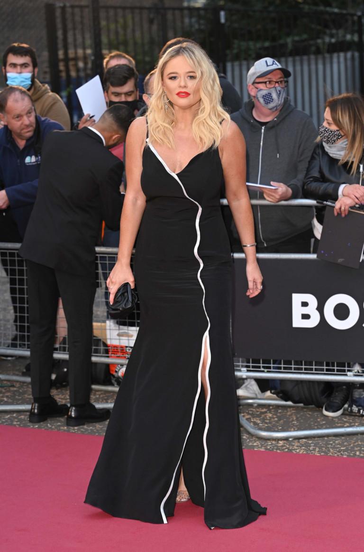 Emily Atack attends the GQ Men Of The Year Awards 2021 at Tate Modern, London, UK. 01/09/2021 Credit Photo (c)Karwai Tang For more information, please contact: Karwai Tang 07950 192531 karwai@karwaitang.com