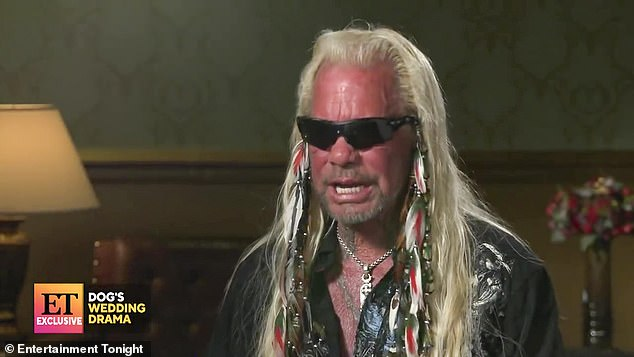 Specious logic: Dog (real name: Duane Chapman) compared himself to Eminem and said he had a right to use the word because black inmates used it around him when he was incarcerated in Texas in the late '70s