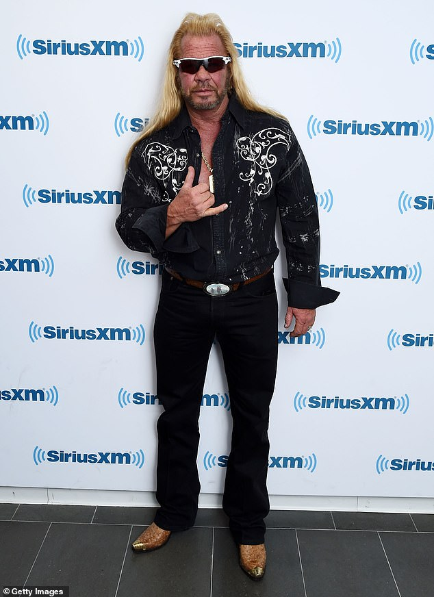 Damage control: In 2007, Chapman's series Dog The Bounty Hunter was suspended by A&E after a leaked call featured him telling his son Tucker to break up with a Black woman because she might expose the fact that he used the N-word freely; seen in 2015 in NYC