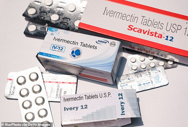 Ivermectin is an FDA approved anti-parasite drug. It is not believed to have any ability to combat viruses like COVID-19 (file photo)