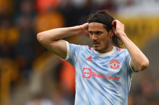 Man Utd have written to the Premier League asking for permission for Edinson Cavani to change his squad number