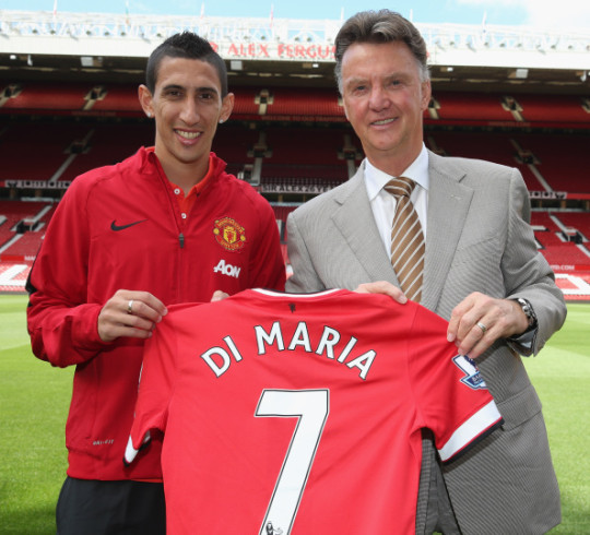 Angel Di Maria blames Louis van Gaal for his failure to settle at Manchester United