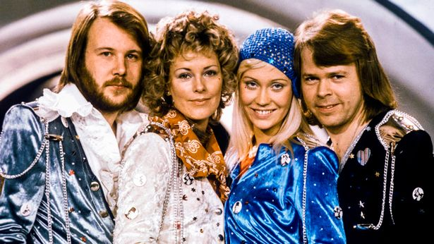 ABBA in 1974 in Stockholm