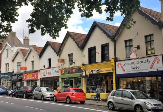 Gloucester Road shopping street