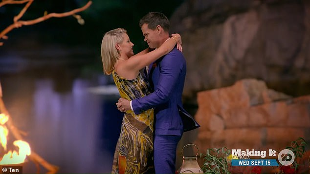 Winner!After breaking Brooke's heart, Jimmy confessed his love to winner Holly