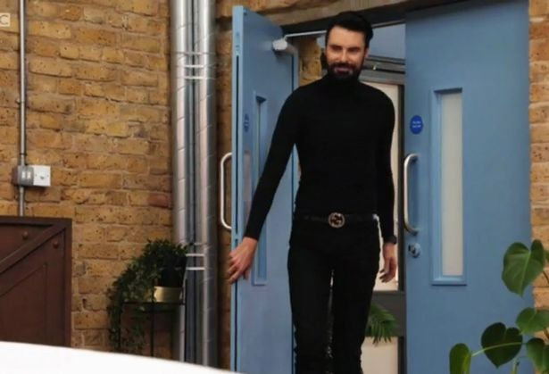Rylan was back in business after taking some time out following his marriage breakdown