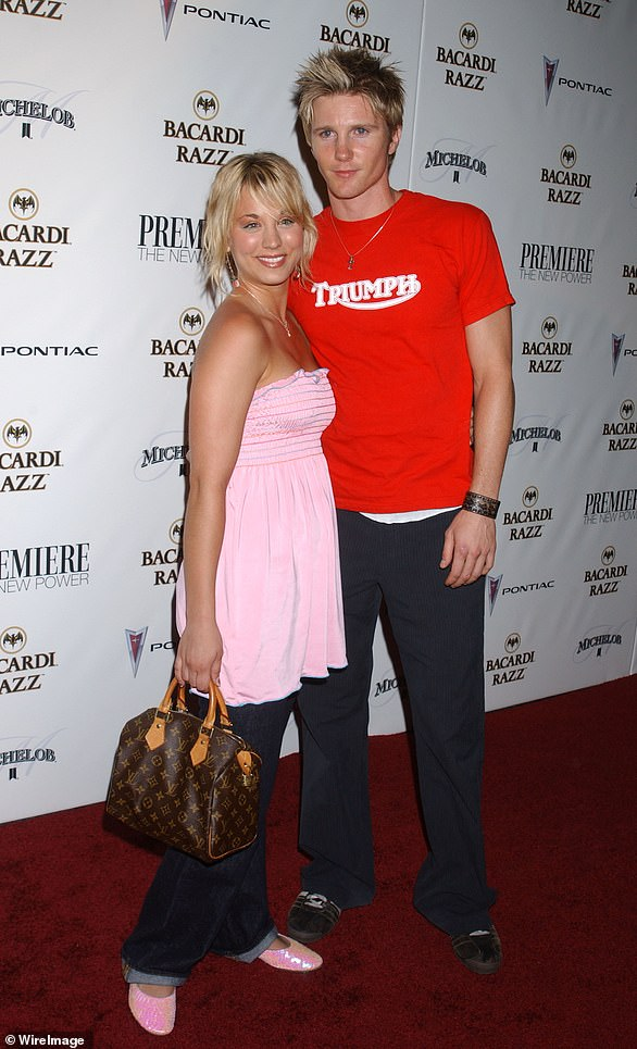 Young love: The star dated The Young and the Restless' Thad Luckinbill when she was just 18-years-old