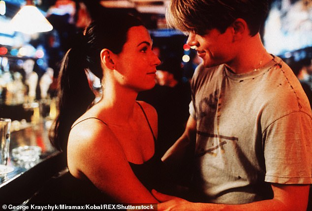 Former costars: The pair notably appeared in two of the main roles in the 1997 psychological drama feature Good Will Hunting